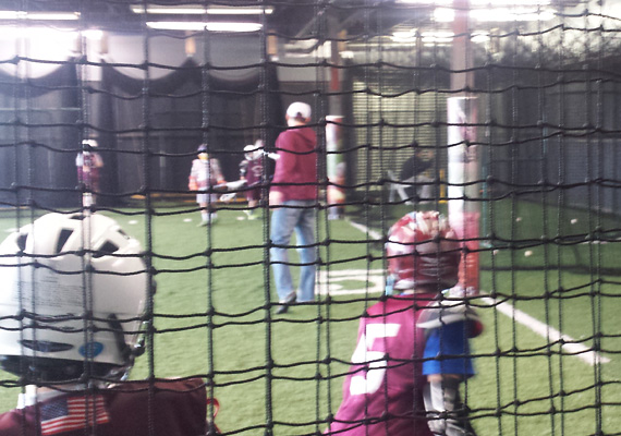... 3 Retractable Batting Cages ...